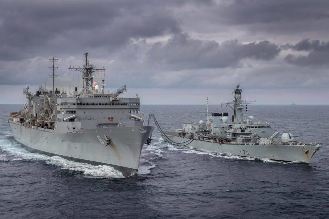 U.S., U.K. Surface Warships Patrol Barents Sea For First Time Since the 1980s
