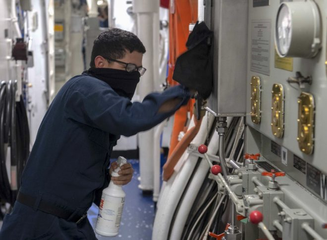 NAVSEA's COVID Rapid Response Team Providing Quick Solutions to Prevent, Slow Outbreaks at Sea