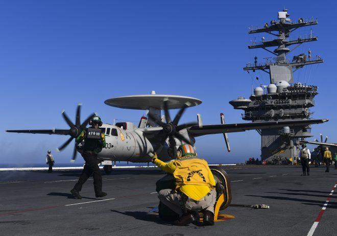USS Nimitz Departs San Diego for Pre-Deployment Exercise