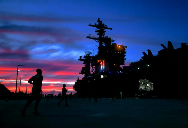 Carrier Theodore Roosevelt COVID-19 Outbreak Investigation Complete, CNO Now ReviewingReport