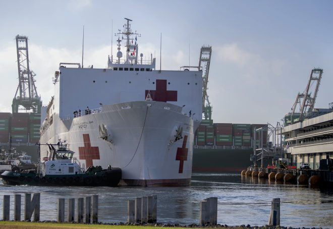 LA County Supervisor Requests USNS Mercy Return To Los Angeles After COVID-19 Surge