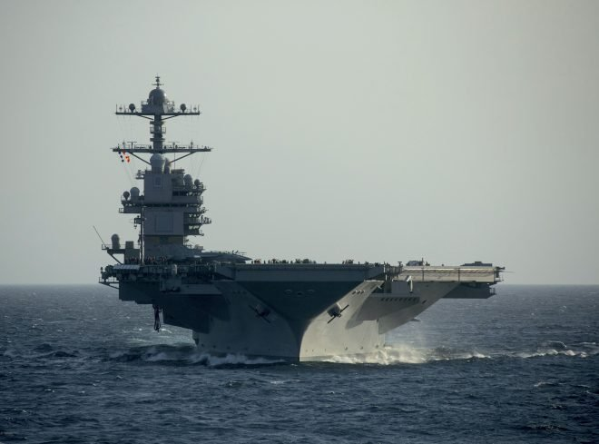 USS Gerald R. Ford Making Steady Progress Ahead of Deployment