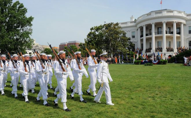 Sailor on White House Staff Tests Positive for COVID-19