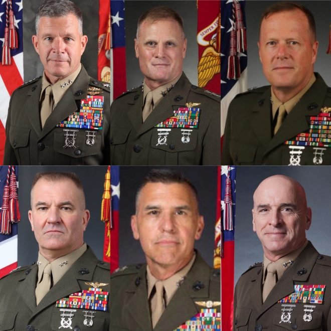 Marine Corps Announces New Aviation, Pacific Leadership Assignments
