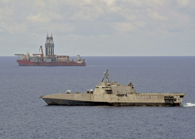 Maritime Standoff Between China And Malaysia Winding Down