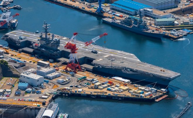Japan-Based Carrier USS Ronald Reagan is Underway as SECDEF Warns of Chinese Military Moves in South China Sea