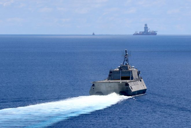 U.S. Sends Warships on Patrol Near South China Sea Standoff