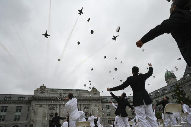 SECDEF Esper Tells Naval Academy Grads Next Generation Fleet on the Way