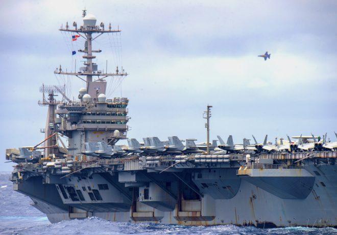Carrier USS Harry S. Truman Returns to Norfolk After 7 Months Underway