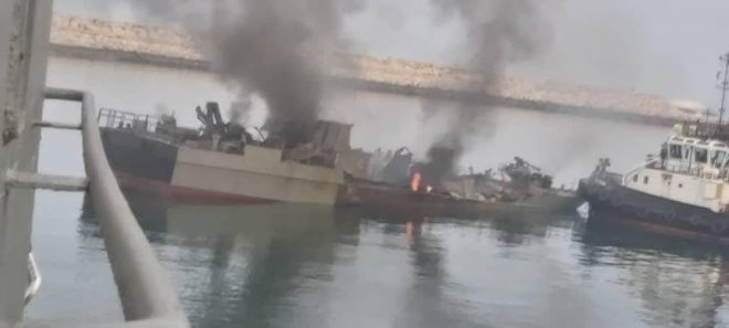 Iranian Friendly Fire Incident Kills 19, After Frigate Fires Missile At Support Ship
