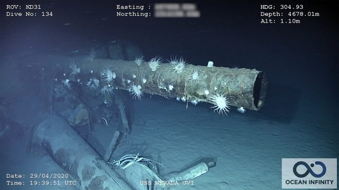 VIDEO: Research Groups Find Wreck of 'Unsinkable Battleship' USS Nevada
