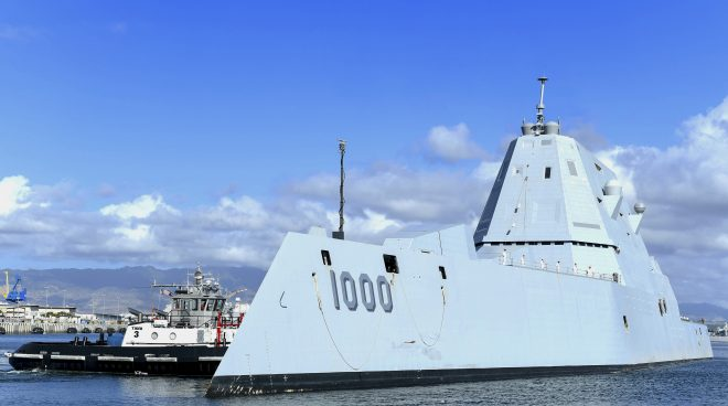 House Defense Bill Pushes Hypersonic Weapons for Zumwalt Destroyers, Slows LUSV Procurement