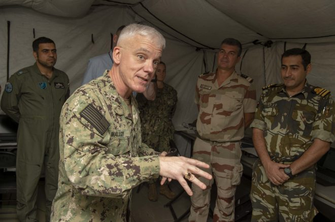 U.S. 5th Fleet CO Malloy Nominated to Serve as Deputy CENTCOM; Skubic to Lead DLA