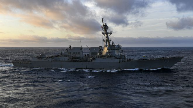 Navy Creates New Atlantic Destroyer Task Group to Hunt Russian Submarines