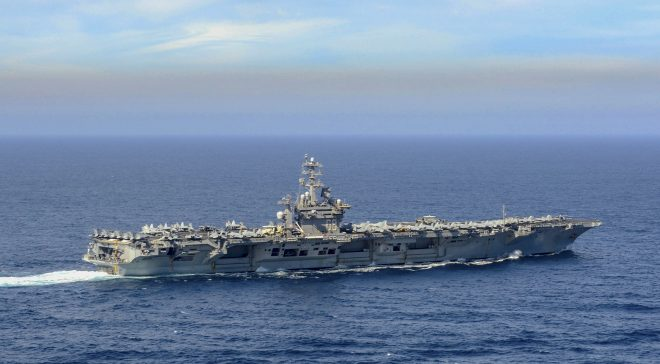Reagan, Nimitz Carrier Strike Groups Deploy