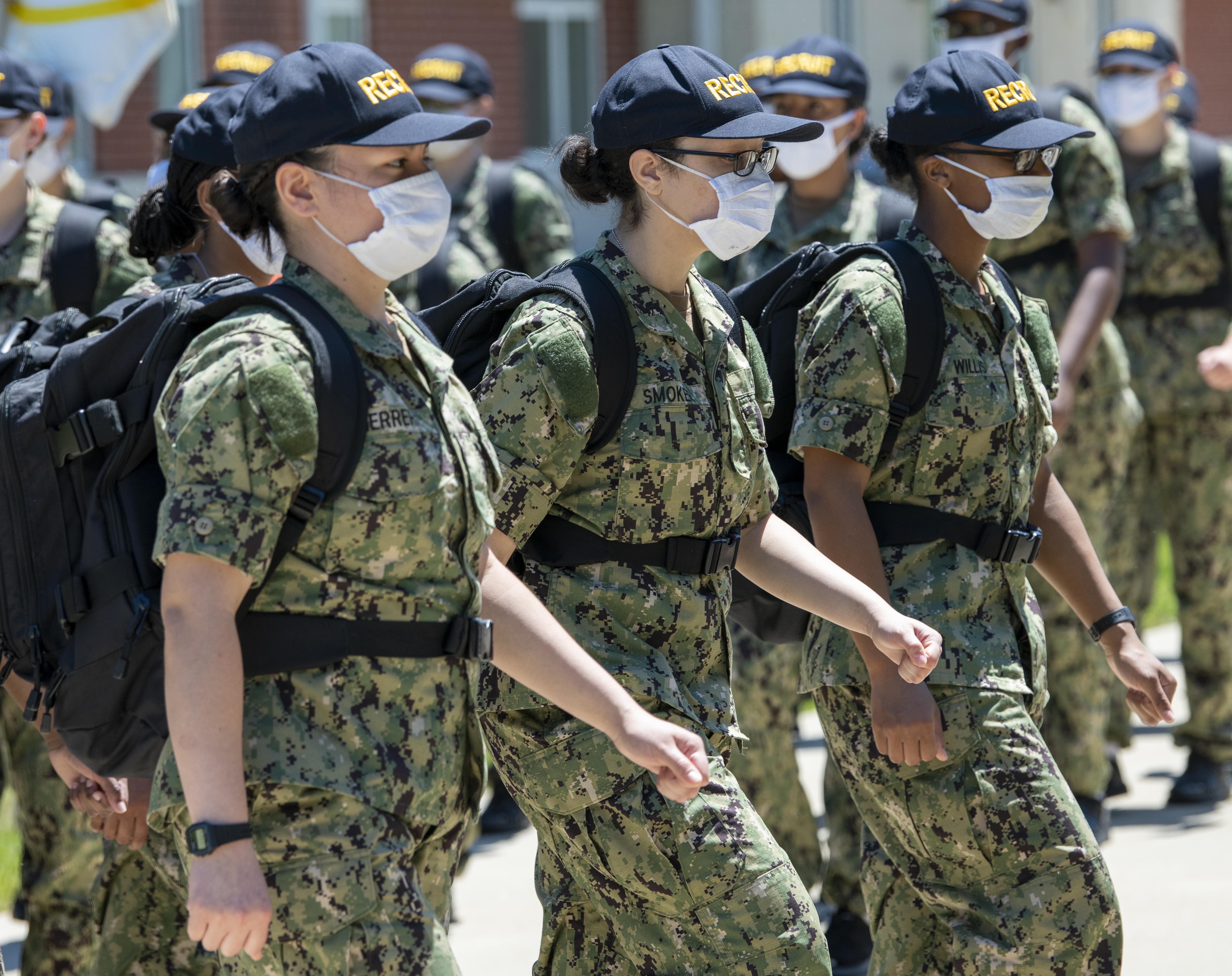 Navy Recruit Training Center in Great