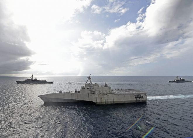 Navy Working on Better Maintainability, Self-Sufficiency for LCS and Rest of Surface Fleet