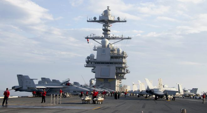 USS Gerald Ford Done Proving It Can Launch Planes, Ready to Tackle Warfighting Operations
