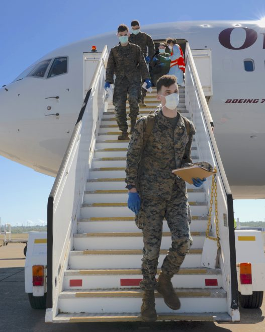 More Marines Arrive in Australia After COVID-19 Screening; 13th MEU Leads Mideast Ready-Response Force