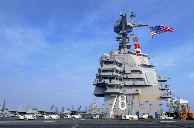 Report to Congress on Gerald R. Ford Carrier Program