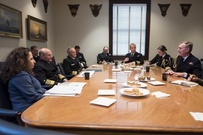 CNO Gilday Joins UK, French Navies for Virtual Trilateral Talks