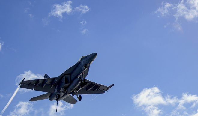 Super Hornet Crashes Near China Lake, Pilot in Stable Condition