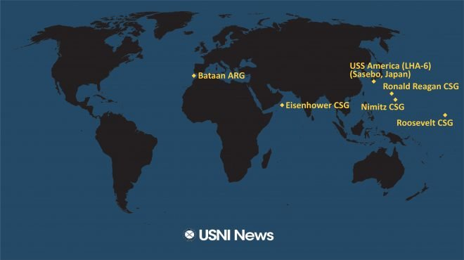 USNI News Fleet and Marine Tracker: June 29, 2020
