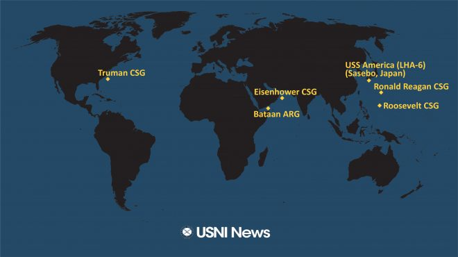 USNI News Fleet and Marine Tracker: June 8, 2020