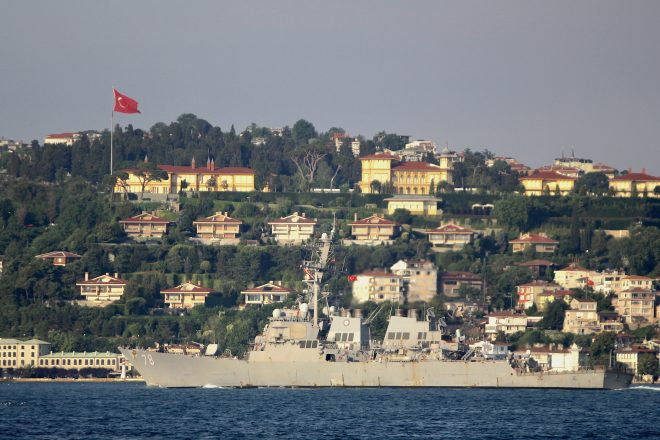 USS Porter Heads to Black Sea For Second Patrol This Year
