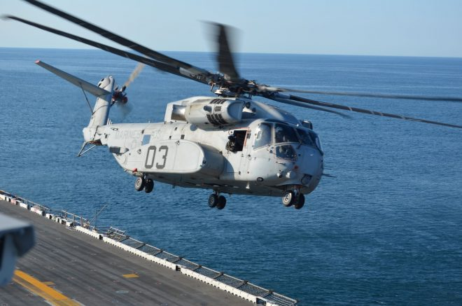 Navy Issues Sikorsky $550.4 Million Modification for 6 CH-53Ks