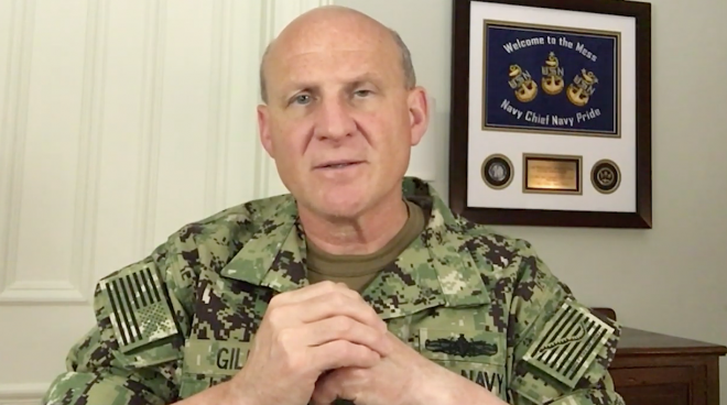 VIDEO: CNO Gilday Message on Death of George Floyd, National Unrest