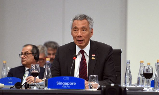 Singapore PM: U.S.-Chinese Relations at 'Very Dangerous' Level