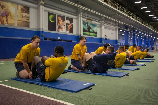 Navy Suspends Second Round of Physical Fitness Assessments To Avoid COVID Spread