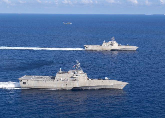 USS Montgomery Deployment Proves Out Changes Made in LCS Program Overhaul