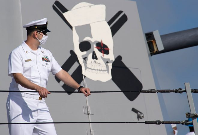 Destroyers Continue to Prowl 4th Fleet As Coast Guard, Navy Rack Up $1B in Drug Seizures
