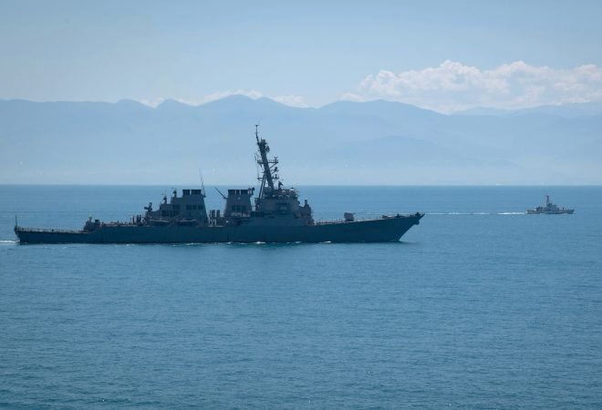 Navy on 'Higher Alert' in Black Sea During Sea Breeze Exercise, But No Run-Ins with Russian Navy