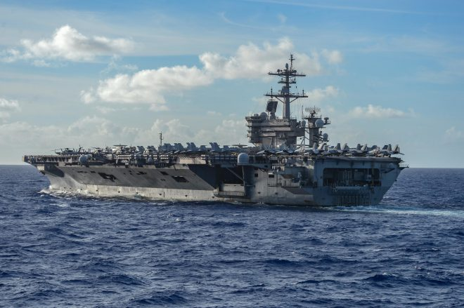 USS Theodore Roosevelt Sailors Test Positive for COVID-19 While Underway