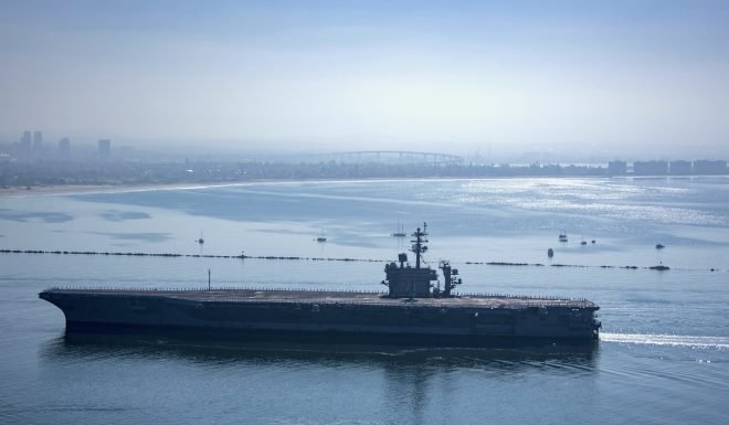 USS Theodore Roosevelt Returns to San Diego Following Deployment Interrupted by Outbreak