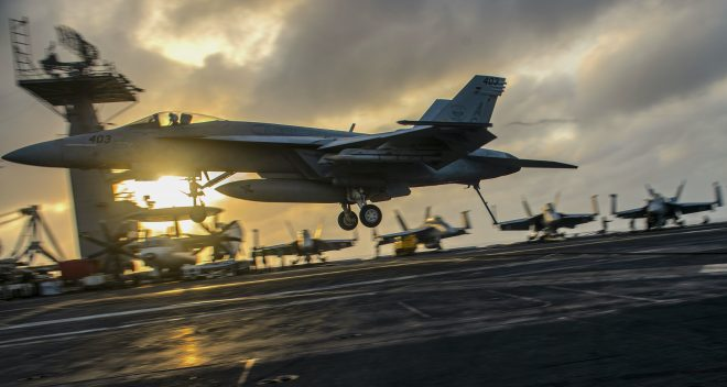 Geurts: Navy, Air Force working to find 'Sweet Spot' in Collaborating on New Fighters