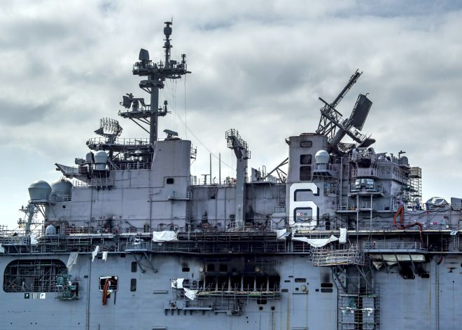 Navy Memo to Shipbuilders, Maintainers on Fire Safety After USS Bonhomme Richard Blaze