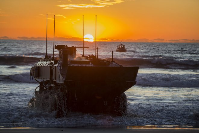Marines' Land Systems Acquisition Portfolio Highlights Importance of Naval Integration, Littoral Operations