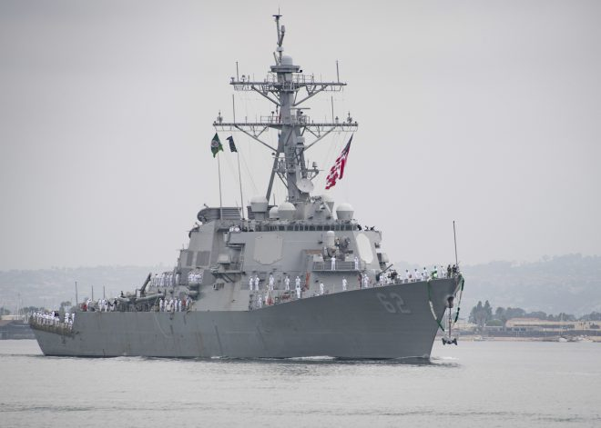 USS Fitzgerald Arrives in San Diego; USS McCampbell Leaves Japan for Lengthy Upgrade Period