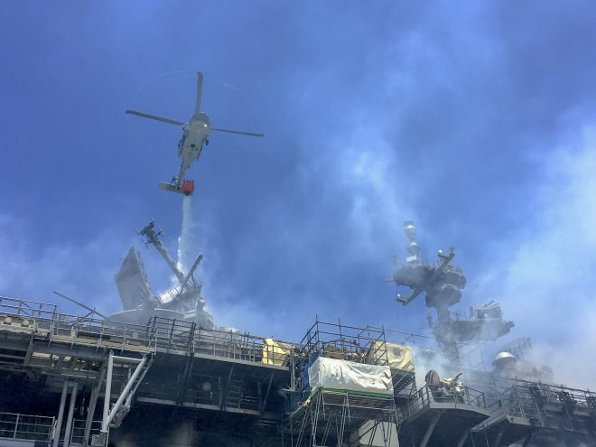 Navy Investigation into USS Bonhomme Richard Fire, Major Fires Review