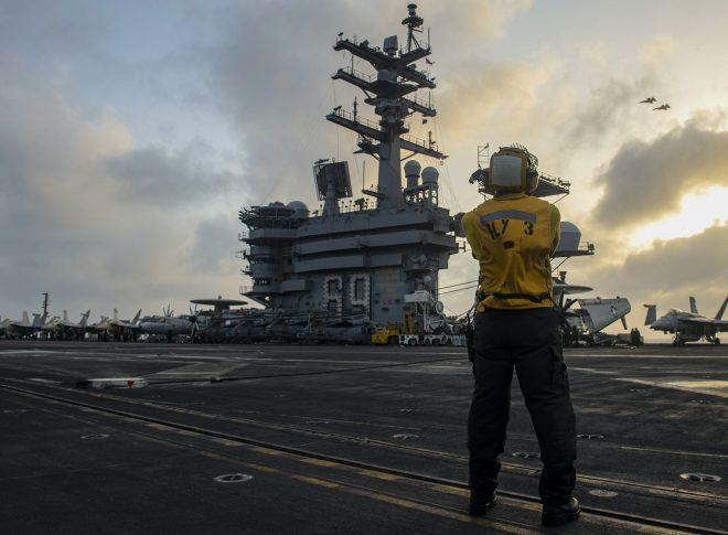 Carrier Eisenhower Now Operating in Atlantic Near Spain