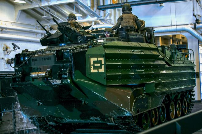 Marine Corps AAV Water Operations Suspension Still Ongoing