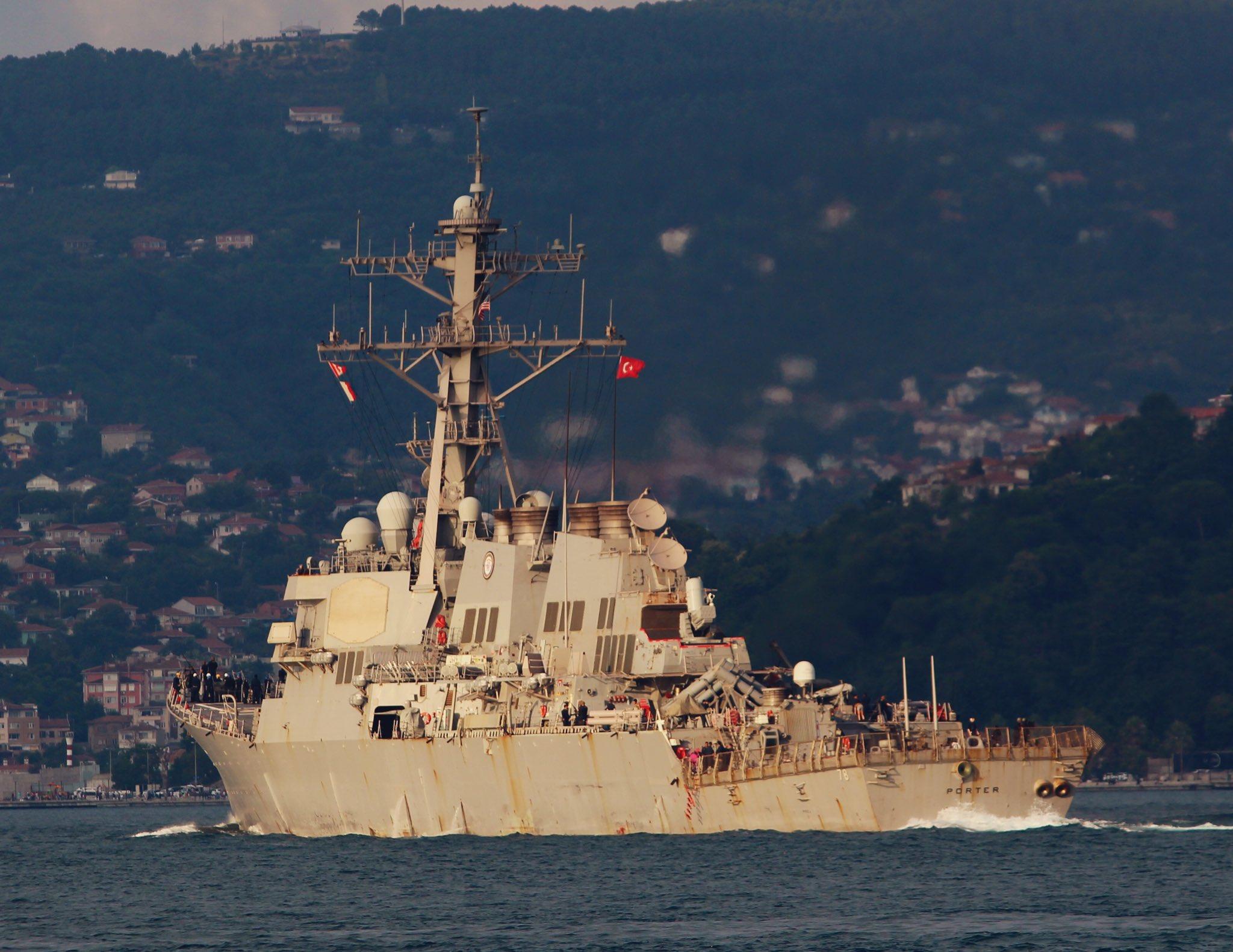 U.S.-Ukraine Sea Breeze Exercise Starts as Russian Black Sea Fleet Holds  Snap Drills - USNI News