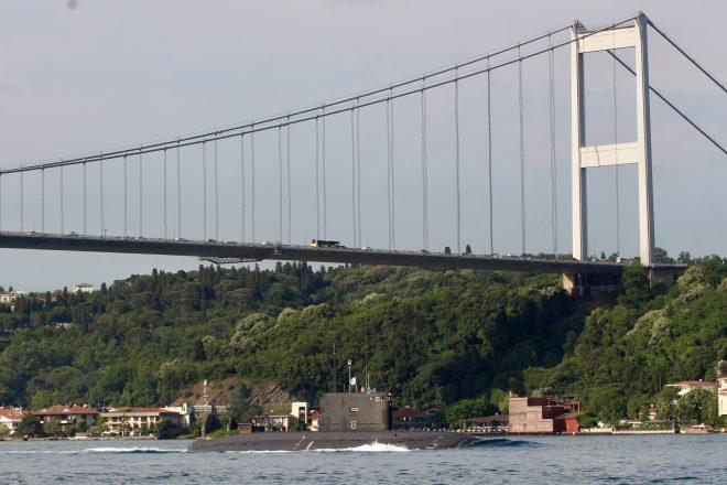 Russian Black Sea Sub Deployments to Mediterranean Could Violate Treaty