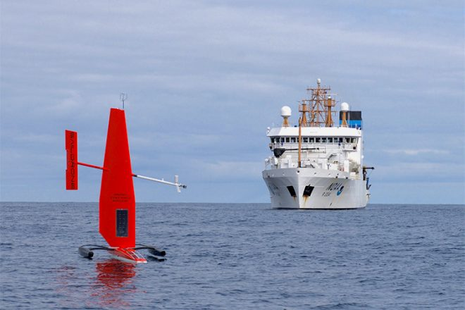 NOAA, Navy Teaming Up to Work on Unmanned Maritime Systems, Policy