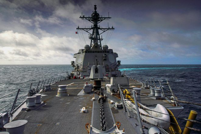 news.usni.org: U.S. Destroyer Transits Taiwan Strait for Second Time in August