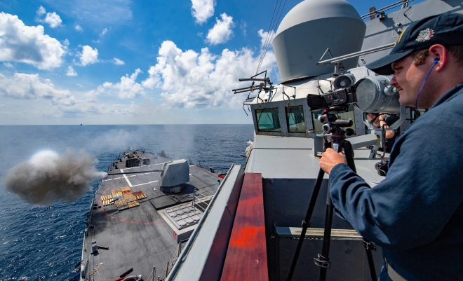 Surface Warfare Training Growing More Complex with Tougher Scenarios